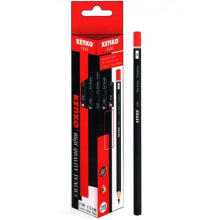 KENKO Pencil 2B-3181 Triangular (1 Pack = 12 Pcs)