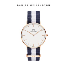 Daniel Wellington Classic Nato Watch Glasgow Eggshell White 36mm