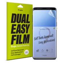 Ringke Dual Easy Full Cover Screen Protector Galaxy S9 Plus