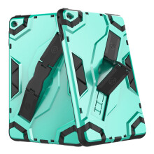 RockWolf iPad mini 4 case TPU silicone back clip bracket anti-wrestling shield flat set
