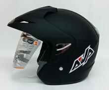 AVA Cruiser Helm Half Face - Black Doff L