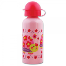 Stephen Joseph Stainless Steel Bottle - Girl Turtle