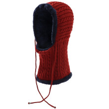 SiYing one-piece autumn and winter warm riding cold-proof men's bib hat