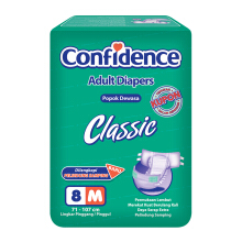 CONFIDENCE Adult Diapers Classic [M] 8's