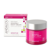 ANDALOU 1000 Roses Heavenly Night Cream 50ml Pink Others
