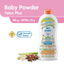 MY BABY Powder Telon Plus - 100gr Extra Fill 25%