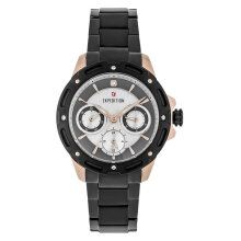 Expedition E 6760 BF BBRBA Ladies Mother of Pearl Dial Black Stainless Steel Strap [EXF-6760-BFBBRBA]