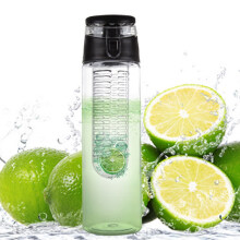 Jantens 800 ML Portable fruit Infusing Infuser Water bottle Sports Lemon Juice Bottle