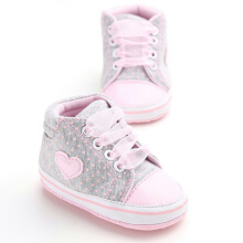 Saneoo Beverly Prewalker Baby Shoes Grey 6-12 bln