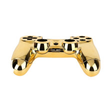 Kingstore Full Housing Shell Case Skin Button Set For Playstation 4 PS4 Controller Gold