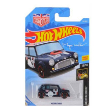 HOTWHEELS Nightburnerz Morris Mini 8/10
