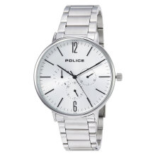 Police Spectrum PL.15301JS/04M Men White Dial Stainless Steel Watch [PL.15301JS/04M]