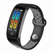 SANDA Q6 IP68 Waterproof Sports Pedometer Heart Rate Monitor Fitness Smart Band for Android IOS