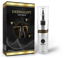Dermagift Hair Serum Treatment Paket Silver Treatment x 1 Botol