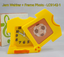Jam Weeker / Tidur Plus Frame Photo LC 9142