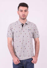 Hammer Men Polo Print - F1PP021 A1