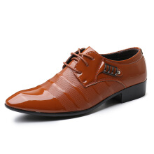 SiYing Business dress men's leather shoes studio photo model performance shoes