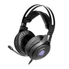 DIGITAL ALLIANCE Black Titan 7.1 Surround RGB Gaming Headset