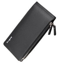 BAELLERRY Casual Original Imported Leather Wallet  Multi Card Long