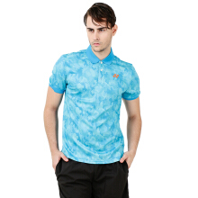 YONEX Men's Polo T-Shirt - Blue Atoll