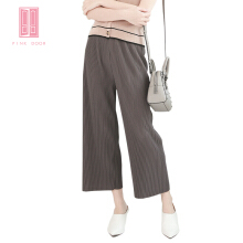 Pink Door Issemiyake Pant-Pinkish Grey Others