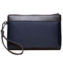 MWS MAN CLUTCH MB0413 LEATHER ORIGINAL Navy Blue