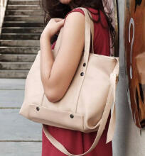 Beauty Gum Tote Bag Zaskia Doff White Basic Semi Ori Plus Tali Selempang 3289