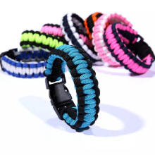 Vaping Dream - 3 Pcs Escape Tool Premium Paracord Bracelet (Warna Acak) Warna Acak Unisex