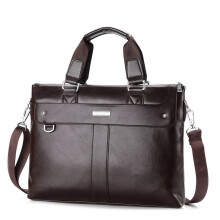 Jantens 2018 Men Casual Briefcase Business Shoulder Bag Leather Messenger Bags Computer Laptop Handbag Bag Men's Travel Bags
