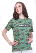 TENDENCIES TSHIRT TENDENCIES GREEN TEES - GREEN Green S