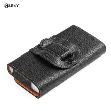 Clip Belt Holster Leather Protective Case Cover for Samsung Galaxy S4 S3