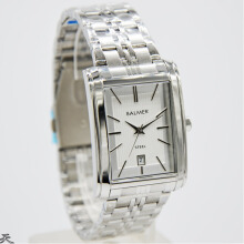 Balmer Jam Tangan Pria - D30H310BLM7971MSLV - Analog Date - Stainless Steel - Silver Silver Lens Silvergreen Frame