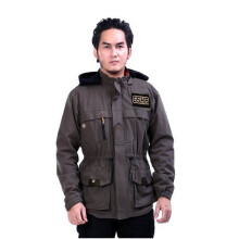 G-SHOP - MEN SWEATER JAKET HOODIES DISTRO PRIA - ASB 1416 - HIJAU SIZE- M