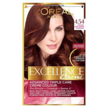 L'oreal Paris Excellence Creme Hair Color - NO 4.45 Mahogany Copper Brown