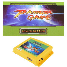 [OUTAD] Arcade Game Entertainment System 999 in 1 Games Console VGA Output Jamm Board Yellow