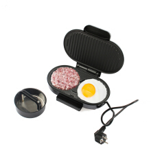 Jantens Steak burger omelette panini sandwich machine bread oven breakfast barbecue electric grill barbecue machine Black