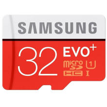 Samsung MMC Evo Plus SD Card plus Adaptor Original 32 GB