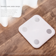 xiaomi mi body composition scale White