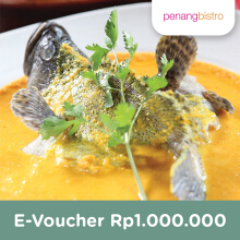 Penang Bistro - Voucher Value Rp 1.000.000
