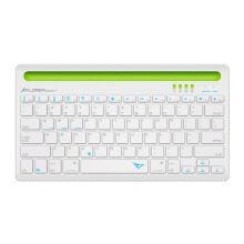 ALCATROZ Xplorer Dock 1 Bluetooth Keyboard - White Green