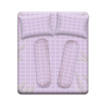JOYSLEEP Bedsheet Pastel Purple
