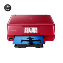 CANON Pixma TS8170 All In One Inkjet Printer (Print, Scan, Copy) - Red