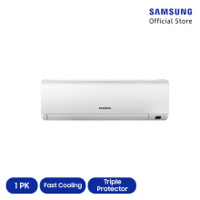 [DISC] SAMSUNG AC Standard 1PK AR09KRFLAWKNSE [INDOOR + OUTDOOR UNIT ONLY]