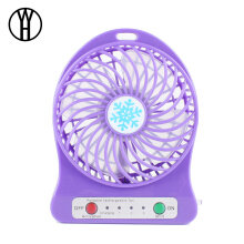 WH Portable Mini USB Fan Small Desk Pocket Handheld Air Rechargeable 18650 Battery Cooler For Home Office