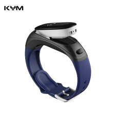 KYM V08 Smart Wristband Answer Call Dial Call Phone Bluetooth Earphone Headset Smart Bracelet 2 In 1 Heart Rate Fitness Tracker