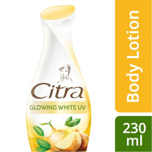 CITRA Hand and Body Lotion Natural Glowing White UV 230ml