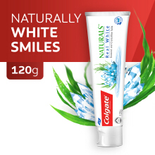 COLGATE Naturals Real White 120gr