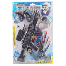 SiYing children's educational toys police gun design model toy gun Gun set
