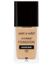 Wet N Wild Photo Focus Foundation - Golden Beige