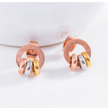 murtoo Women's earring Silver Rose Gold Gold